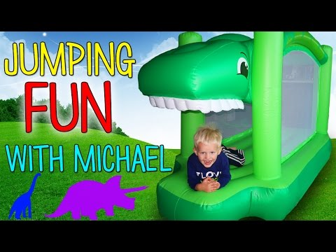 Little Tikes Dino Bouncer Playtime Fun with Michael