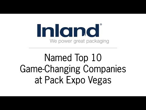 Inland Packaging Named Top 10 Game-Changing Companies at Pack Expo Vegas