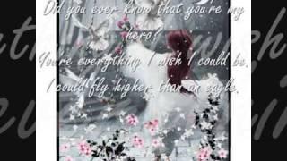 Charice- Wind Beneath My Wings (Lyrics!)