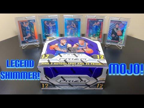 2018-19 Panini Prizm Basketball Hobby Box Break #7 (FOTL) - Mojo & Legend Shimmer Pull!