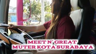 Devi Driver Shadow Bawa Ghina Keliling Margomulyo Surabaya