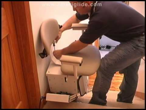 How to Install an AmeriGlide Stair Lift, part 2.