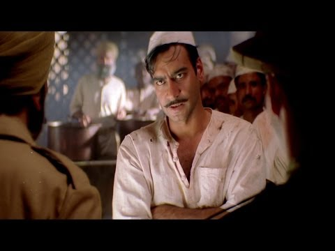 Bhagat Angry Over Treatment with Indian Prisoners - The Legend Of Bhagat Singh Scene | Ajay Devgan