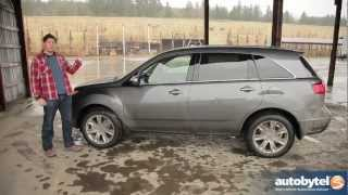 2012 Acura MDX Test Drive & Luxury SUV Video Review