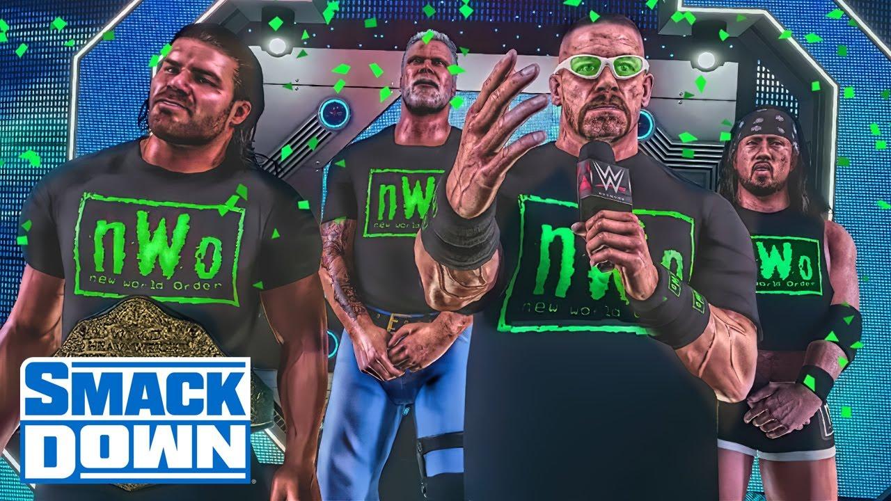 John Cena Betrayed By Shady nWo Member (WWE 2K Story)
