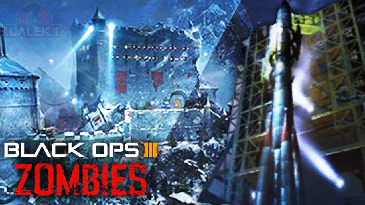 "Black Ops 3 ZOMBIES ""DER EISENDRACHE"" DLC #1 – STORYLINE LINKS & ASCENSION LINK?! (BO3 Zombies DLC)"