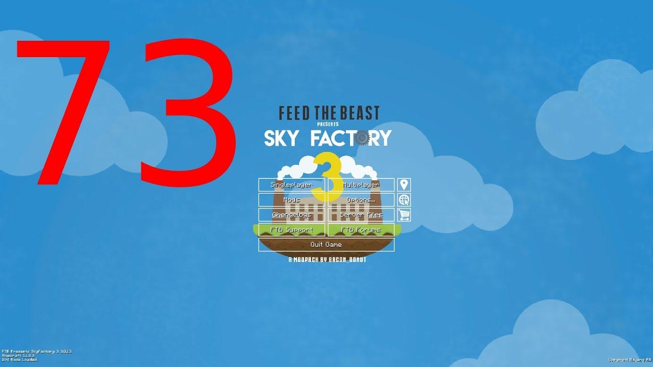 Ore Excavation Mod Erleuchtung | 73 | Skyfactory 3 (Minecraft Modded Sky  Block)