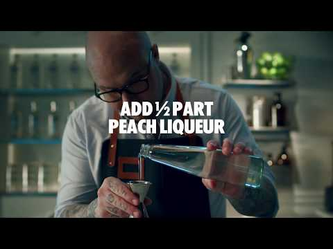 How to make an Absolut Sex on the Beach Cocktail | Recipe