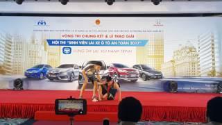 TNUT - Chung kết Hội thi Sinh viên lái xe an toàn năm 2017