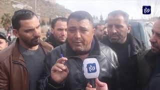 سائقو الحافلات العمومية في الكرك يتوقفون عن العمل (11/2/2020)