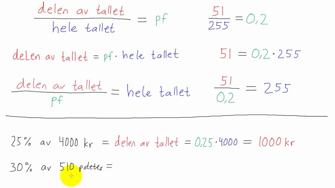 Matematikk 1P - 044 - Prosentregning
