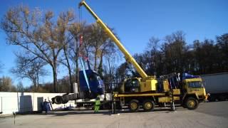 Auto Pomoc Szkwarek - Unoszenie ciągnika siodłowego - Holowanie A2 Świecko, A12 Niemcy