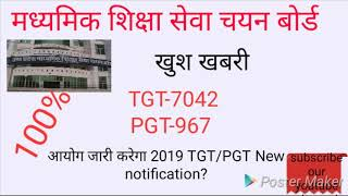 New notification for TGT/PGT 2019 UPSSCB