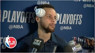 Steph Curry on tough Game 4: 'It might not be your night' | 2019 NBA Playoffs