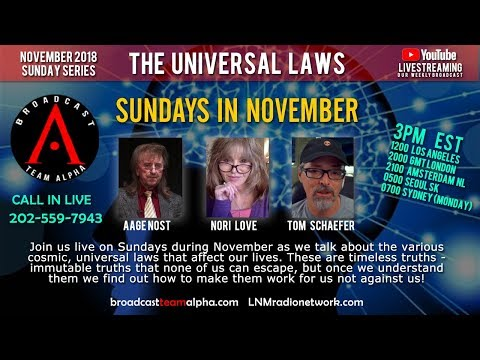 11-25-2018 S01E14 Universal Laws