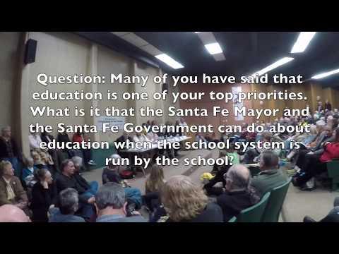 Santa Fe Mayoral Forum Part 4