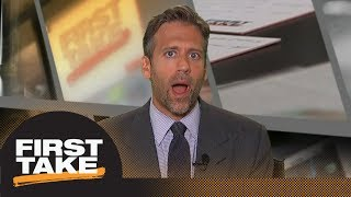 Max Kellerman: Cam Newton won dispute with Kelvin Benjamin | First Take | ESPN
