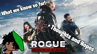 ALL WE KNOW About Rogue Company + Thoughts and Hopes!