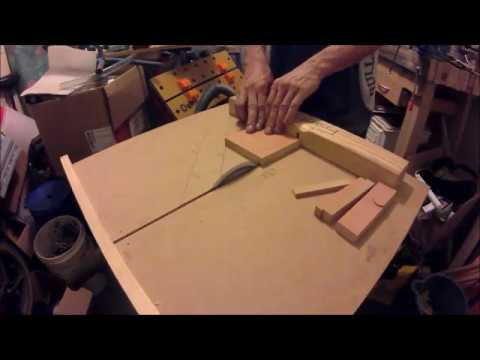 Checking My DIY Table Saw Build, By Cutting A Square Piece Of Wood 5 Times. 03-11-2017.