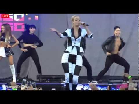 Ariana Grande ft Iggy Azalea - Problem live at Wango Tango