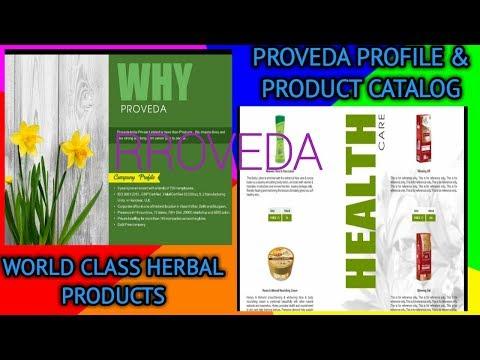 PROVEDA HERBAL COMPANY PROFILE & PRODUCT CATALOG PRESENTATION