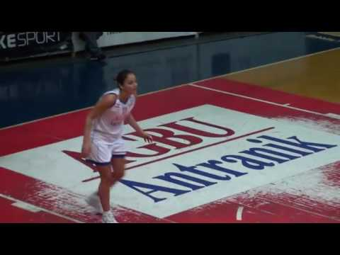 lebanese women's basketball league  Antranik Beirut vs Riyadi 12-4-2017