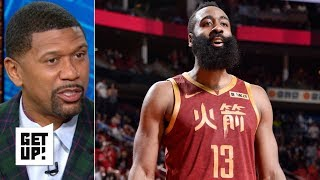 James Harden's 'ball hog' streak is crucial for the Rockets' playoff run – Jalen Rose | Get Up!