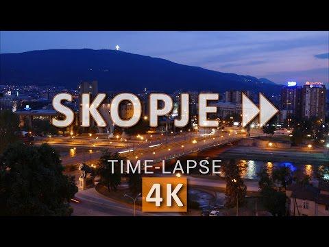 Skopje FF | Skopje Time-lapse in 4K/UHD