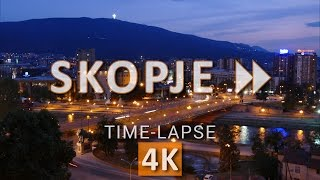 Skopje FF (Time-lapse videos in 4K/UHD/2160p)