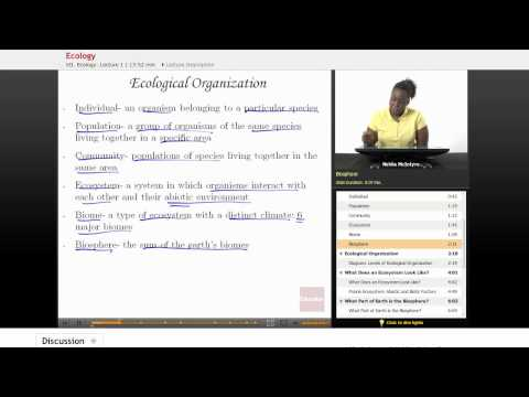 Life Science - Ecology