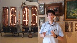 IoT#6 Часы на неоновых индикаторах, семисегментных и ЭЛТ