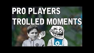 Pro Players TROLLED MOMENTS #2  - (League of Legends)