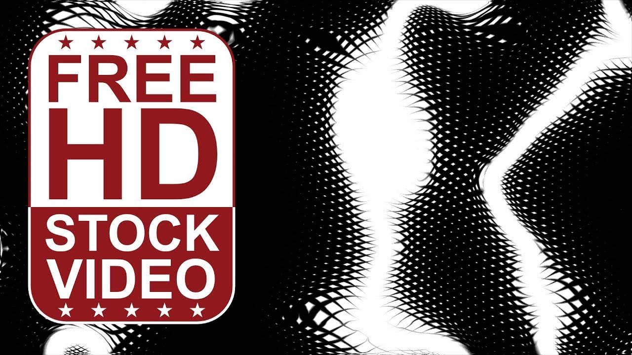 無料のビデオは黒で