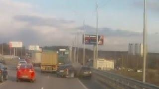 Авария на Новой Риге 21.04.2015