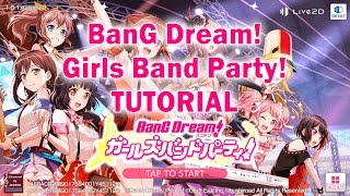 BanG Dream! Girls Band Party! - Getting Started Tutorial