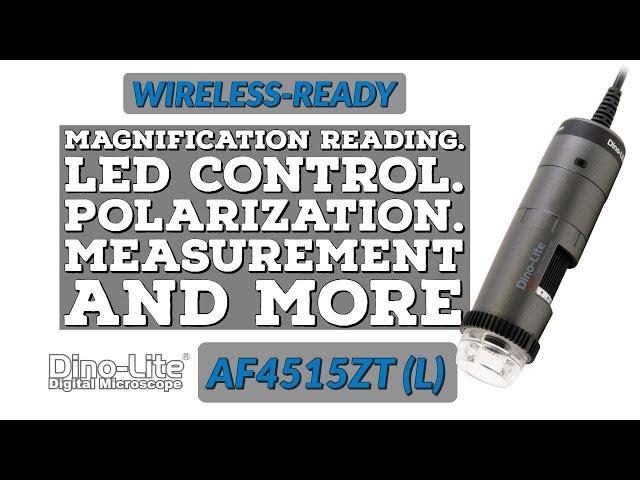 AF4515ZT / AF4515ZTL Wireless-Ready Scopes with AMR, FLC. Optional Long Working Distance.