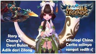 kisah asal usul change dewi bulan adik dari zi long cerita mitologinya mobile legends