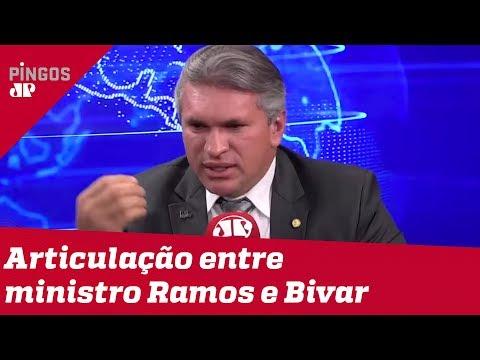 Liderança do PSL: Deputado Julian Lemos confirma articulação entre ministro Ramos e Bivar