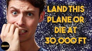 Man Terrified Of Flying Lands Plane In Emergency | Derren Brown Hero At 30,000 Feet  | Amaze