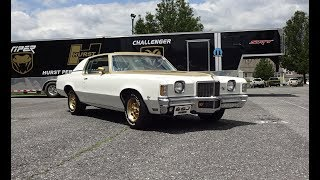 1972 Pontiac Grand Prix Hurst SSJ in White / Gold & 455 Engine Sound My Car Story with Lou Costabile