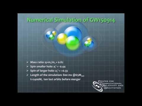 Numerical Simulation of GW150914