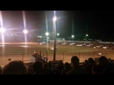 Super Stock Feature Part 1/2  Lincoln Park Speedway