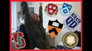 COLLEGE DECISIONS REACTIONS 2018   HARVARD, MIT, UCLA and MORE!!