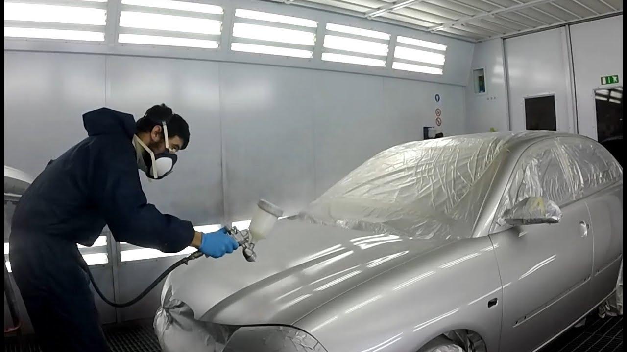 C mo pintar autos plateados youtube - Como pintar un radiador ...