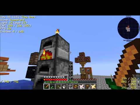 Modern Skyblock 3   Ep23 Chaotic Learning