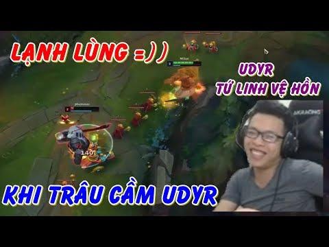 Khi Trâu Gáy: Udyr Mang Skin Tứ Linh Vệ Hồn (Best Tính Dame)   Trâu Best Udyr