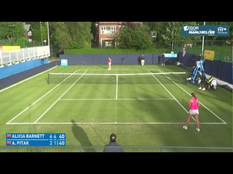 Aegon Manchester Trophy Live Stream Court 1
