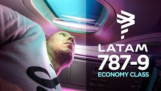 The LATAM Airlines 787-9 experience: Los Angeles to Santiago