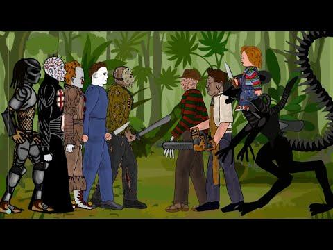 Jason vs Freddy vs Michael vs Pennywise vs Leatherface vs Chucky vs Pinhead vs Alien vs Predator