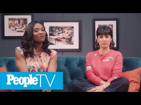 Constance Zimmer Freaks Out While Reminiscing Over '90210' Cameo | PeopleTV | Entertainment